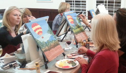 Paint Night in Temecula