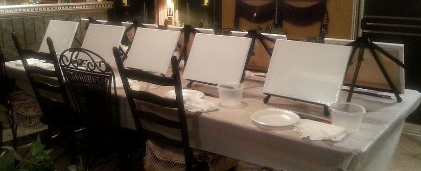 Paint Night Table