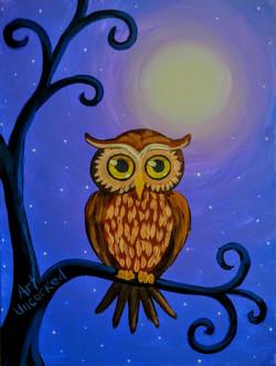 Owl Paiinting
