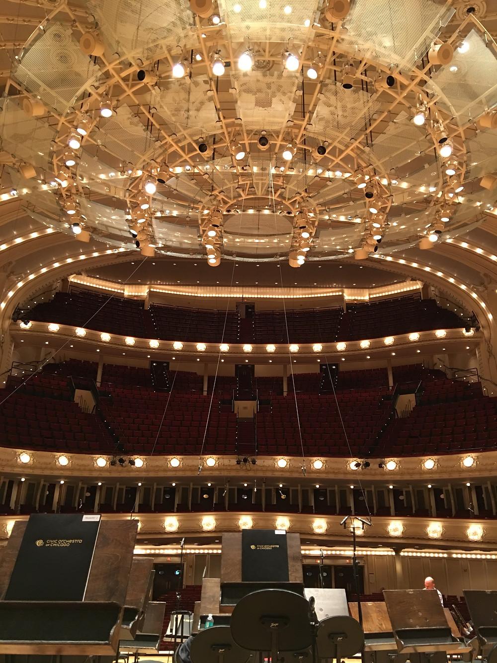 シカゴ交響楽団の本拠地・シンフォニーセンター