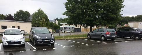 Parking visiteurs Apivet