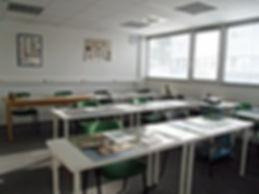 Salle de formation en petit groupe Apivet formation auxiliaires vétérinaires