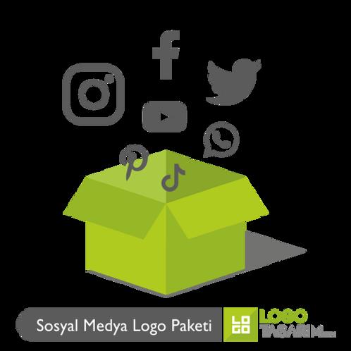 Sosyal Medya Logo Paketi