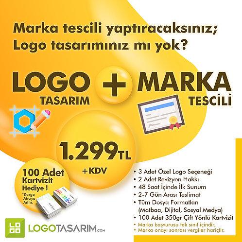 Logo + Marka Tescil Paketi