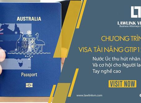 AUSTRALIA: CHƯƠNG TRÌNH VISA TÀI NĂNG GTIP 124