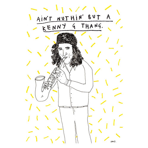 Ain't Nuthin' But A Kenny G Thang