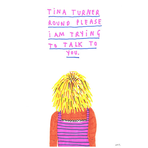 Tina Turner Round Please
