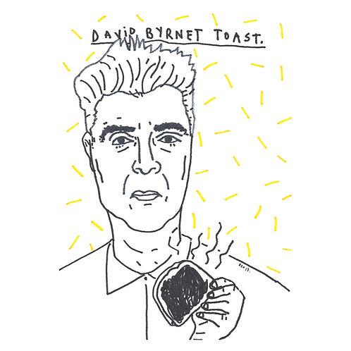 David Byrnet Toast