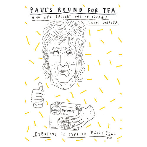 Paul's Round For Tea
