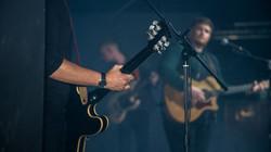 Connor Adams live at the Box Tree Venue.