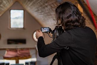 Greyhound Creative: Ricardo Markin filming on set in Shotley, Suffolk