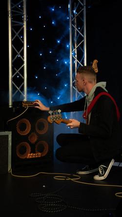 Alexander Lenton: Connor Adams live at the Box Tree Venue.