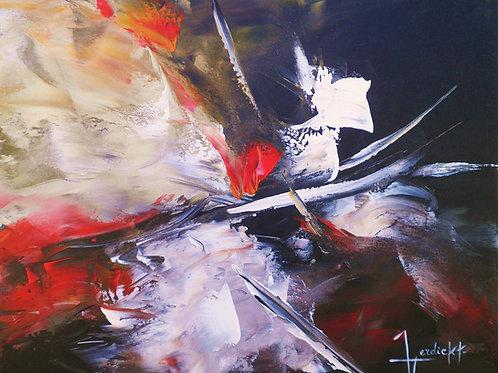 Abstaction - Eclat  Acrylique