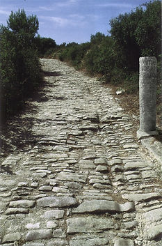 Histoire du Château Prat de Cest, voie romaine