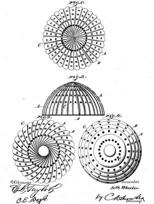 1889 Seth Wheeler 'Bosom Pad'