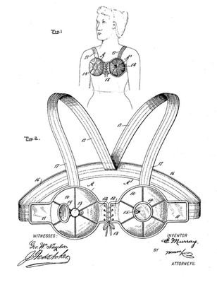 1899 Ebenezer Murray 'Breast Shield'
