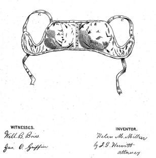 1873 Helen M Millar 'Bosom-Pads'