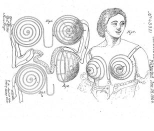 1864 Eleanor M. Marshall 'Breast-Protectors'