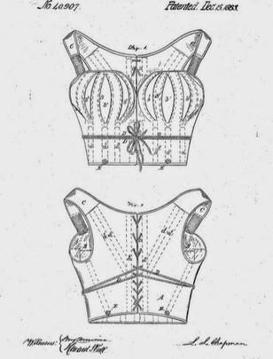 1863 Luman L Chapman 'Corset'