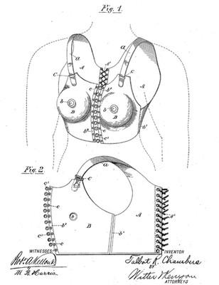 1894 Talbot R. Chambers 'Breast Compressor'