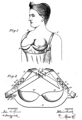 1893 Mary Tucek 'Breasts Supporter'