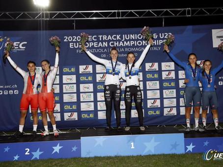 Fiorenzuola d'Arda 12 oktober: goud in ploegkoers