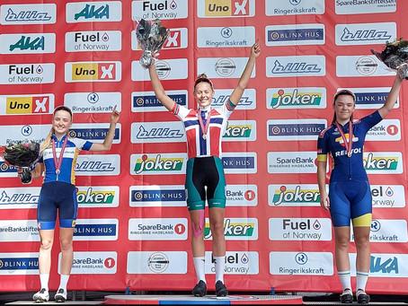 Hønefoss 22 augustus: Noors kampioenschap junioren