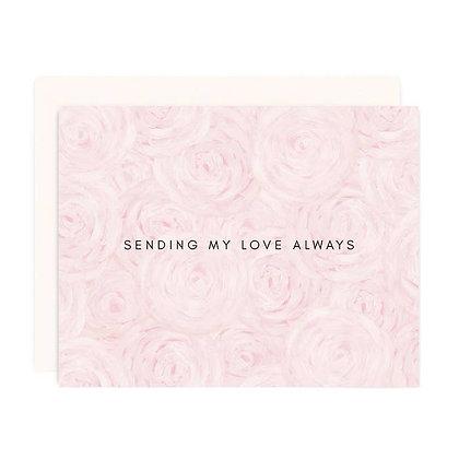 Love & Peonies Card