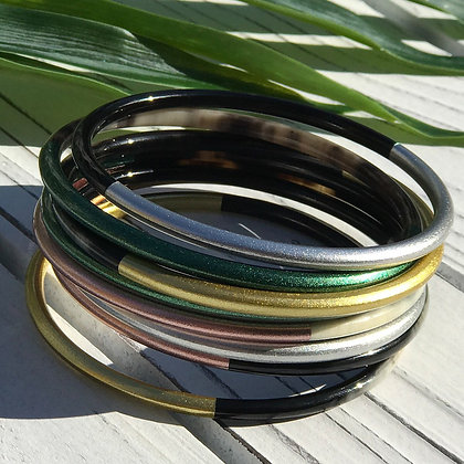 Lilliana Metallic Bangle Set