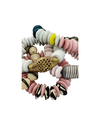 African Beaded Stackers