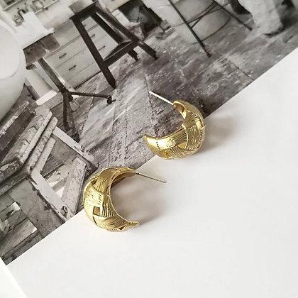 Leva Vintage Hoops