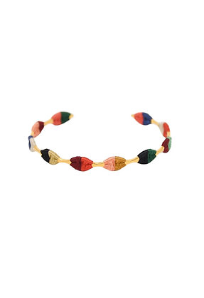 Zoe Africana Threaded Cuff