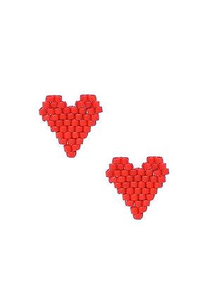 I Heart U Studs