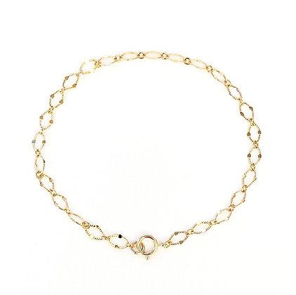 Fiona Flat-Link Bracelet