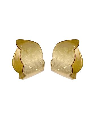 Turlington Brass Hoops - Small