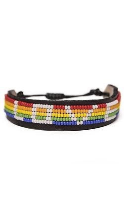 The Rainbow LOVE IS Project Bracelet