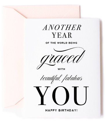 Another Year Birthday Card