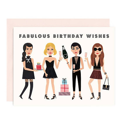 Fabulous Wishes Card