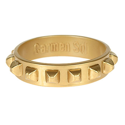 Borchia Bracelet (Wide) - Metallic Gold