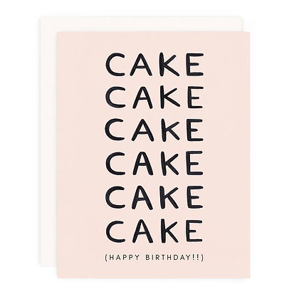 Cake, Cake, Cake Card