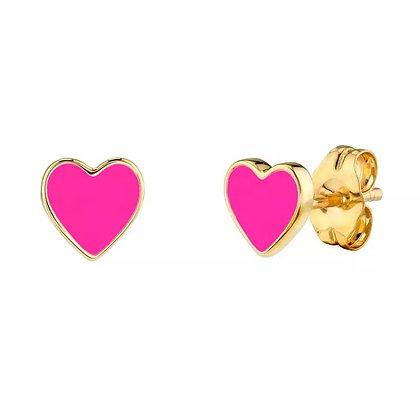Margo Mini Hearts - Hot Pink