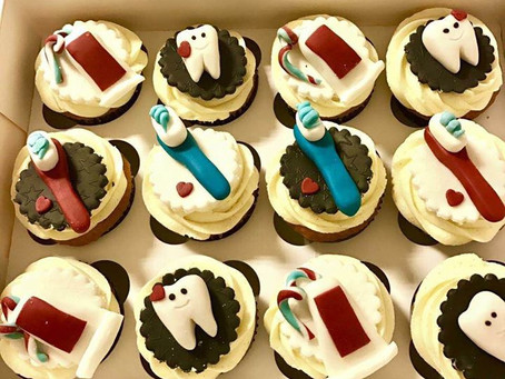 Belated Birthday Cakes for the Sweet Toothed Dentist
