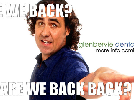 Are we back back.... not quite yet!