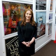 Sharron in her Gallery