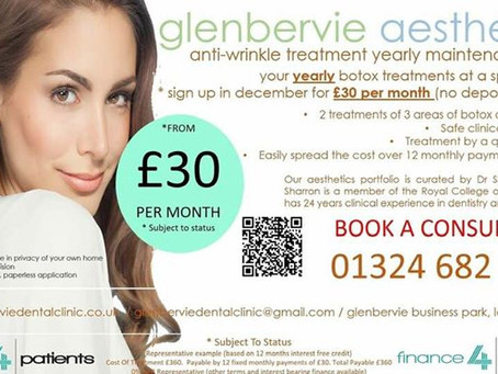 0% Finance Available For Cosmetic and Aesthetic Treatments