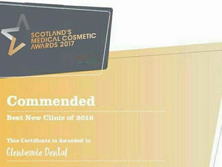 Commended in the Best New Clinic category