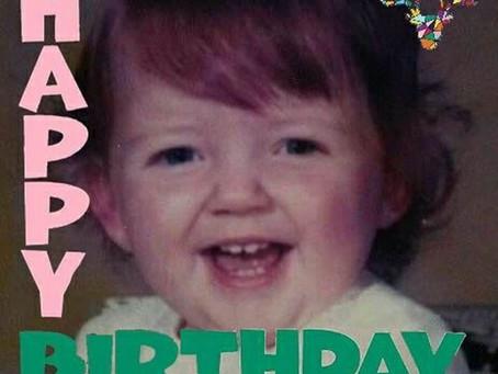 Happy Birthday to Sharron - 21 again!