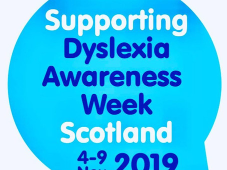 Supporting Dyslexia Awareness Week