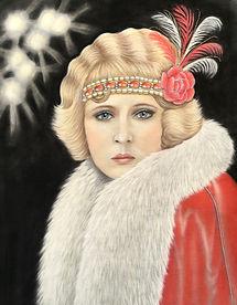 Roaring Twenties 1920s Flapper Art Deco