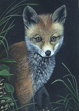 wildlife art acrylic painting